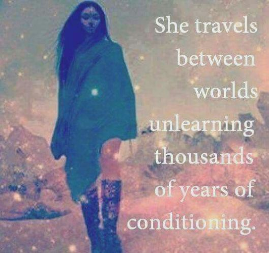 she travels to learn